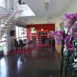 Foyer mit Beratung