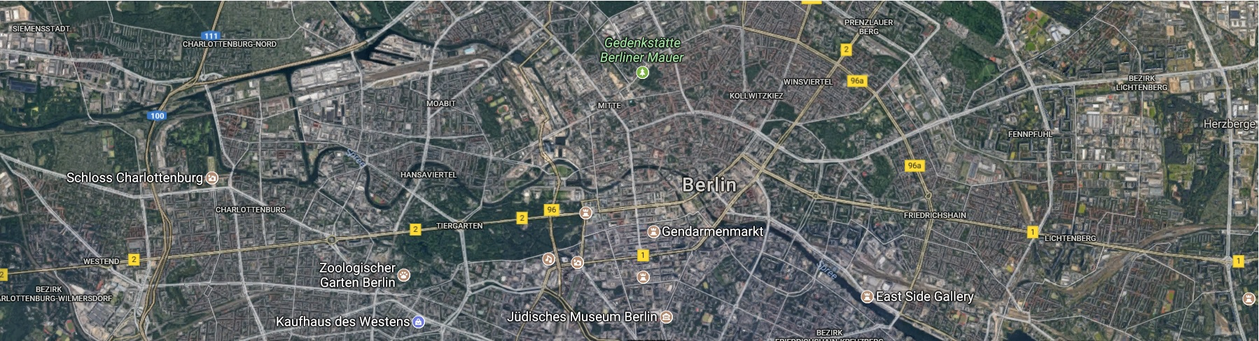 Stadtplan Mitte